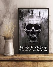Skull -find my soul 24x36 Poster lifestyle-poster-3