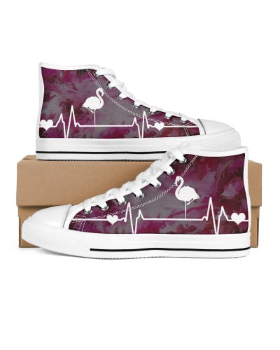 Flamingo Heart Beat Shoes Hightop