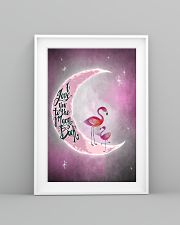 Flamingo I Love You To The Moon And Back 24x36 Poster lifestyle-poster-5