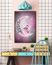 Flamingo I Love You To The Moon And Back 24x36 Poster lifestyle-poster-6