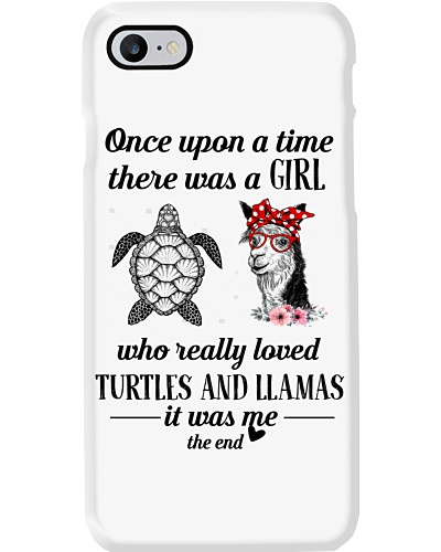 Once Upon A Time A Girl Loved Turtles And Llamas