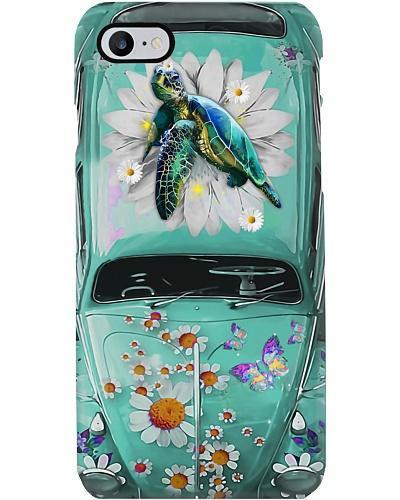 Turtle Daisy Phone Case