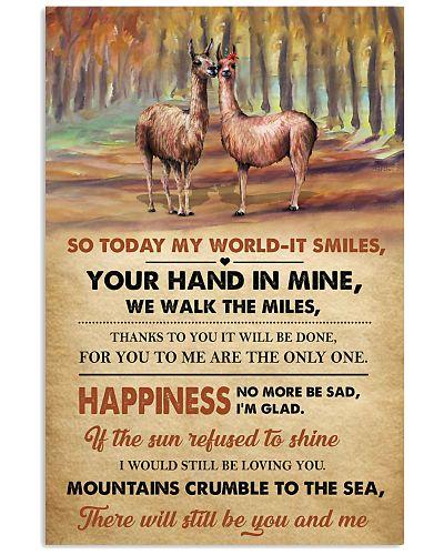 Llamas Happiness