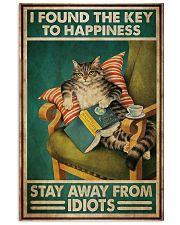 Black Cat The Key To Happiness 11x17 Poster front