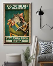Black Cat The Key To Happiness 11x17 Poster lifestyle-poster-1