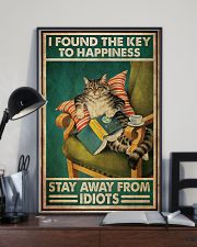 Black Cat The Key To Happiness 11x17 Poster lifestyle-poster-2