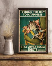 Black Cat The Key To Happiness 11x17 Poster lifestyle-poster-3