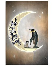 Penguins I Love You To The Moon And Back 11x17 Poster front