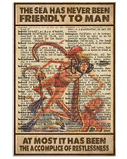 The Sea Has Never Been Friendly To Man 11x17 Poster front