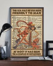 The Sea Has Never Been Friendly To Man 11x17 Poster lifestyle-poster-2
