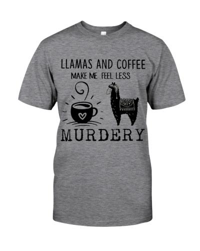 Llamas And Coffee Mae Me Feel Less