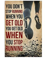 You Don't Stop Running 11x17 Poster front