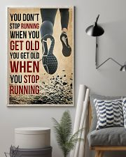 You Don't Stop Running 11x17 Poster lifestyle-poster-1