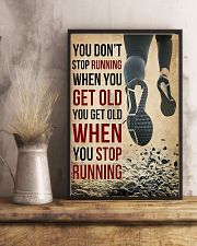 You Don't Stop Running 11x17 Poster lifestyle-poster-3
