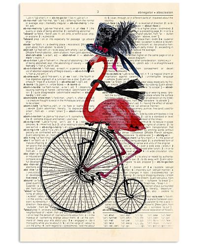 Flamingo And Bicycle