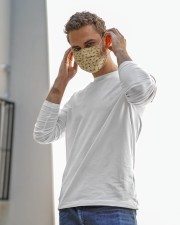 Bee Face mask  Cloth face mask aos-face-mask-lifestyle-12