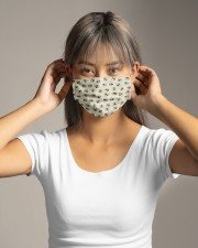 Bee Face mask  Cloth face mask aos-face-mask-lifestyle-16