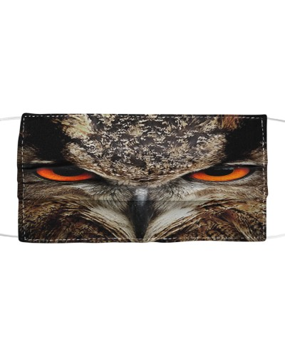 Owl Face Mask 0605