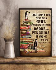 Girl Loved Penguins And Books 11x17 Poster lifestyle-poster-3