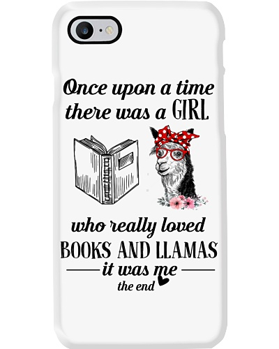 Once Upon A Time A Girl Loved Book And Llamas
