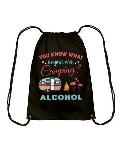 Flamingos and Camping Alcohol