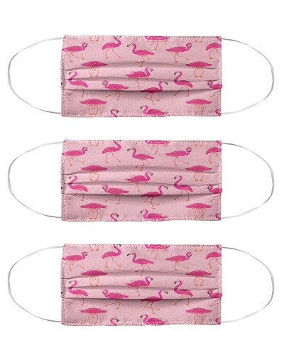 Flamingos Face Mask 1004 2