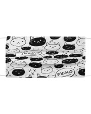 Cat Face Mask 100421216 Cloth face mask front