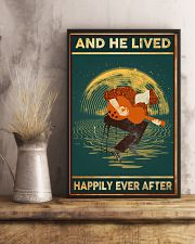Guitar And He Lived Happily Ever After 11x17 Poster lifestyle-poster-3