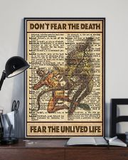Dont Fear The Death 11x17 Poster lifestyle-poster-2