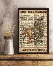Dont Fear The Death 11x17 Poster lifestyle-poster-3