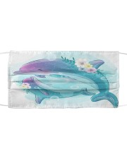 Dolphins FM 1506 Cloth face mask front
