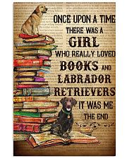 Labrador Retrievers And Books 11x17 Poster front