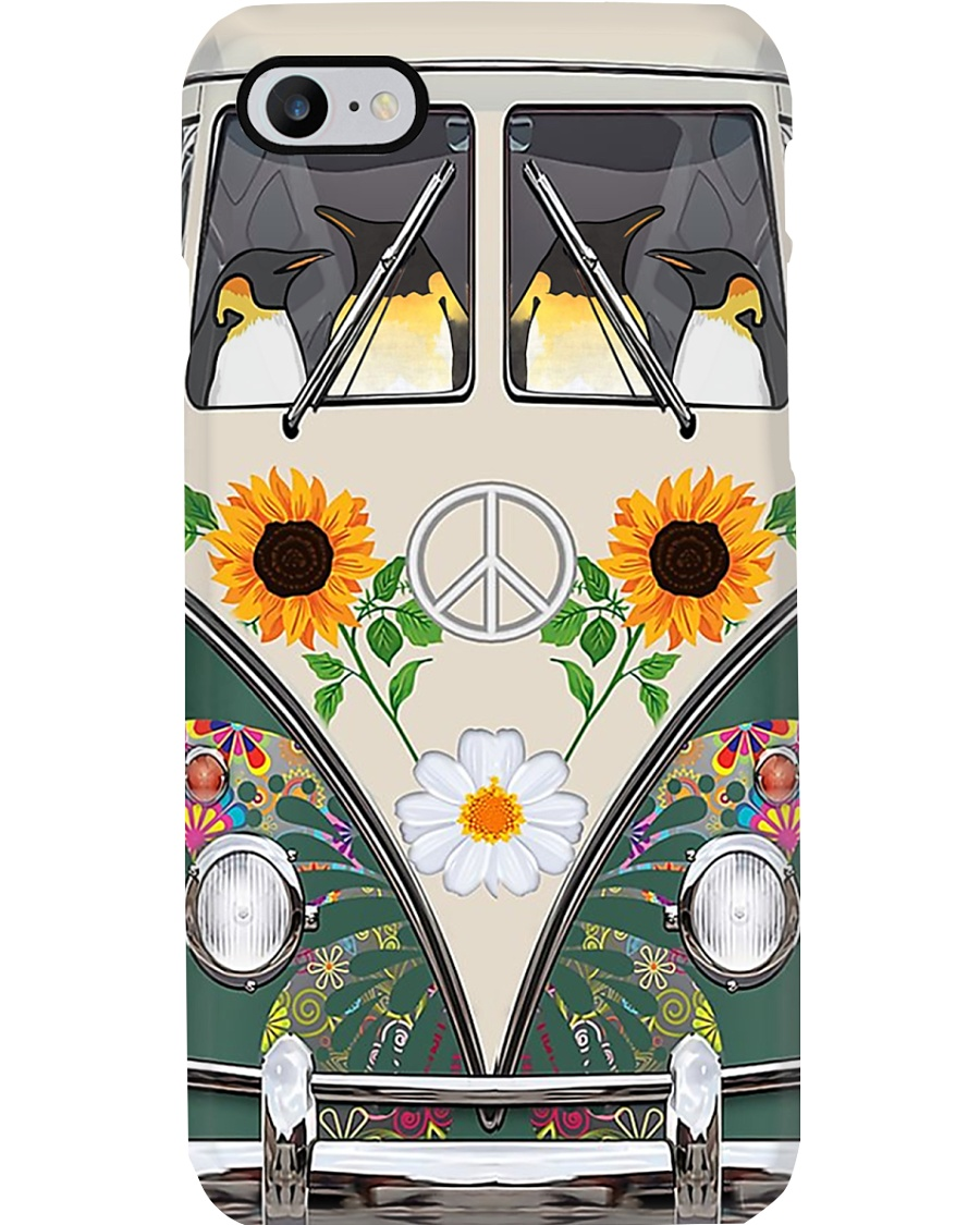 Penguin Hippie 3003 Phone Case