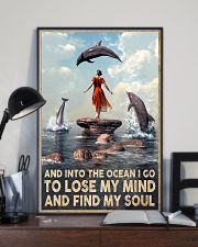 Dolphin Into The Ocean Lose My Mind Find My Soul 11x17 Poster lifestyle-poster-2