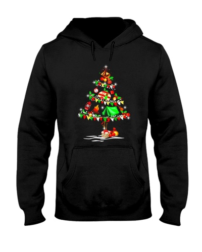 Camping Christmas Tree T Shirt