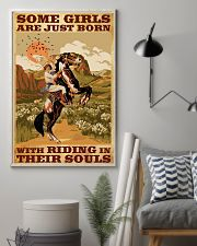 Some Girls With Riding In Their Souls 11x17 Poster lifestyle-poster-1