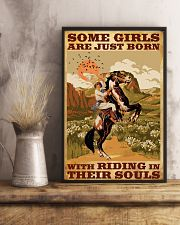 Some Girls With Riding In Their Souls 11x17 Poster lifestyle-poster-3