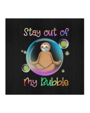Sloths Stay Ourt Of My Bubble Cloth face mask aos-face-mask-coverlet-lifestyle-front-02