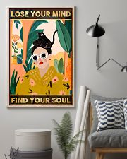 Cats Lose Your Mind Find Your Soul 11x17 Poster lifestyle-poster-1