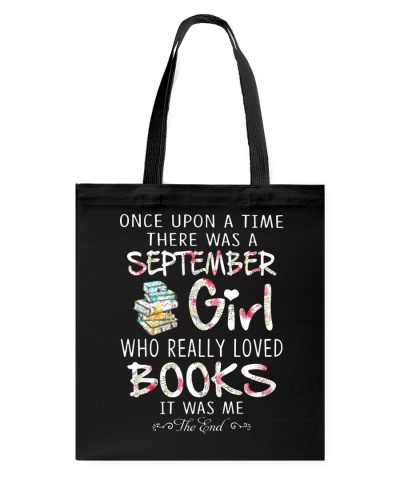 Once Upon A Time September Girl Book T Shirt