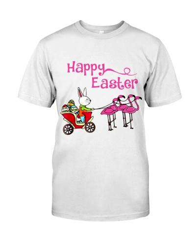 Happy Easter Flamingos