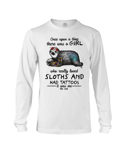 Once Upon A Time There Was A Girl Sloths Tattoos