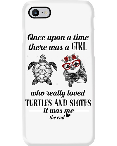 Once Upon A Time A Girl Loved Turtles And Sloths