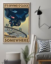 It's Diving O'clock 24x36 Poster lifestyle-poster-1