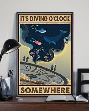 It's Diving O'clock 24x36 Poster lifestyle-poster-2
