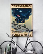 It's Diving O'clock 24x36 Poster lifestyle-poster-7