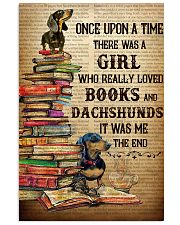 There Was A Girl Who Loved Dachshunds And Books 11x17 Poster front