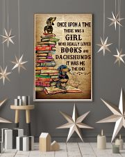 There Was A Girl Who Loved Dachshunds And Books 11x17 Poster lifestyle-holiday-poster-1