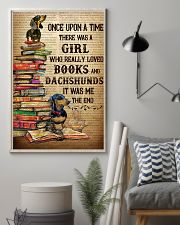There Was A Girl Who Loved Dachshunds And Books 11x17 Poster lifestyle-poster-1