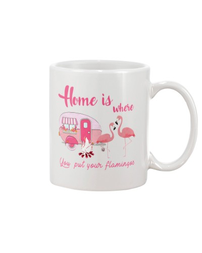 Home Is Where You Put Your Flamingos